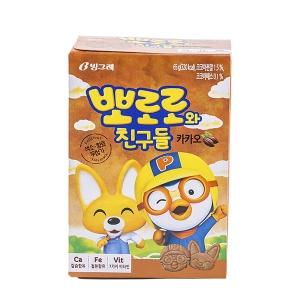 빙그레 뽀로로와 친구들 카카오 65g[40개]