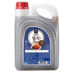 대상 청정원 남해안 멸치 액젓 골드 3kg[5개]