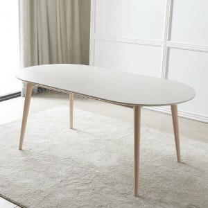 리바트 온라인 레도바 6인 라운드 세라믹 식탁