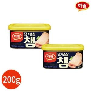 하림 닭가슴살 챔 200g[4캔]