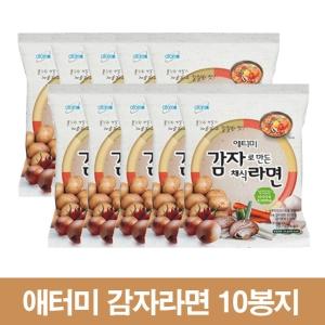 애터미 우리밀 감자라면 114g[10개]