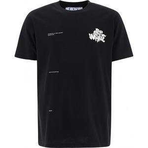 오프화이트 남성 로고 반팔 티셔츠_OMAA027S21JER0141001