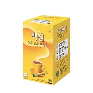 동서식품 맥심 모카골드 마일드 커피믹스 스틱 12g 180개입[300개]