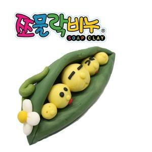 펀앤조이 쪼물락 비누만들기 완두콩[1인용]