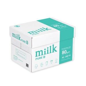 한국제지 밀크 퓨어 항균 복사용지 A4 80g[2,000매]