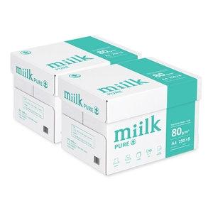 한국제지 밀크 퓨어 항균 복사용지 A4 80g[4,000매]