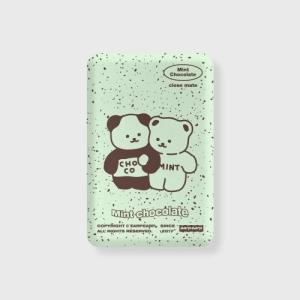어프어프 Cookie cream-mint 무선충전 보조배터리