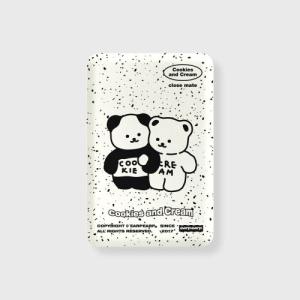 어프어프 Cookie cream-ivory 무선충전 보조배터리