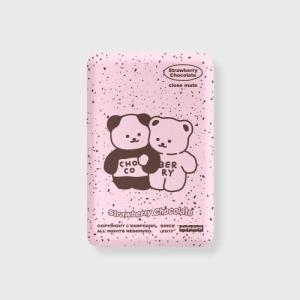 어프어프 Cookie cream-pink 무선충전 보조배터리