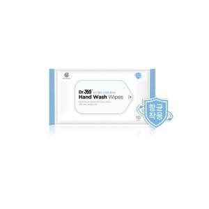 앙블랑 닥터365 손세정 물티슈 휴대용 (10매)[10팩(100매)]