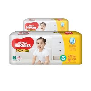 2020 하기스 보송보송 팬티 6단계-공용[8팩,42매(336매)]