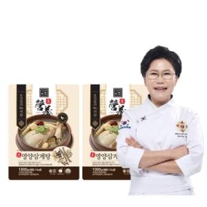 차오름푸드 유귀열 능이누룽지 삼계탕 1kg[2개]