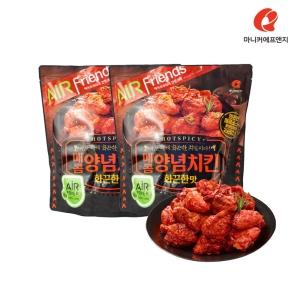마니커에프앤지 매콤양념치킨 600g[2개]