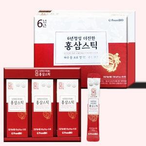 6년정성 더진 홍삼스틱 10g 30포[4개]