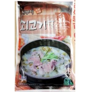 장터 최부자 쇠고기국밥 550g[5개]