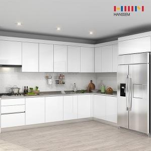 한샘 프리체 슬림 냉장고장 (ㄱ자)[5.7m ~ 6.2m]