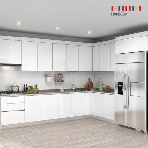 한샘 프리체 슬림 냉장고장 (ㄱ자)[6.2m ~ 6.5m]