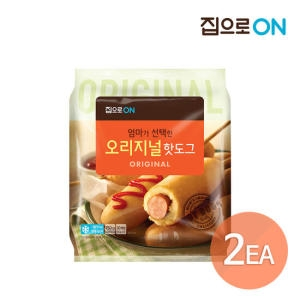 대상 청정원 집으로ON 오리지널 핫도그 750g[2개]