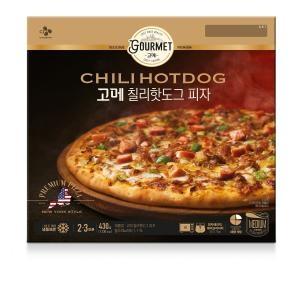 CJ제일제당 고메 칠리 핫도그 피자 430g[1개]