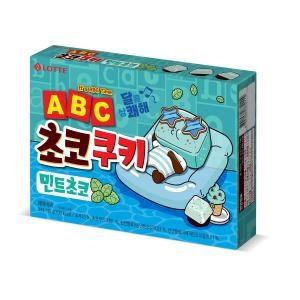 롯데제과 ABC 초코쿠키 민트초코 130g[1개]