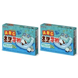 롯데제과 ABC 초코쿠키 민트초코 130g[2개]