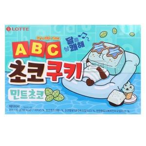 롯데제과 ABC 초코쿠키 민트초코 130g[9개]