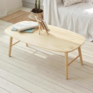올리빙 원목 접이식 테이블[110x60cm]