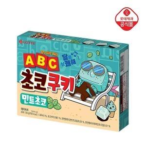롯데제과 ABC 초코쿠키 민트초코 130g[6개]